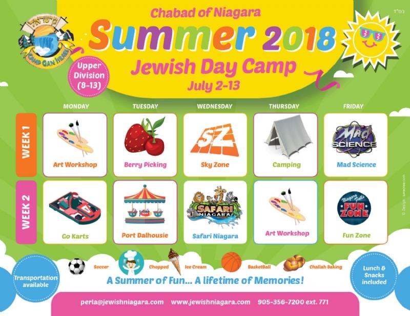 summer camp calendar template