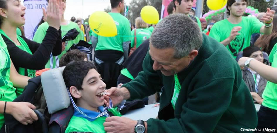 A delegation of leaders from Friendship Circles in North America will visit Israel this month to share expertise with top innovators there, including Israel Prize winner Maj. Gen. Doron Almog, above, founder of Aleh, a rehabilitation village in the Negev serving thousands of children with special needs.