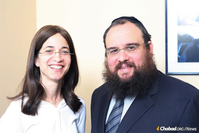 Rabbi Levi and Bassie Shemtov