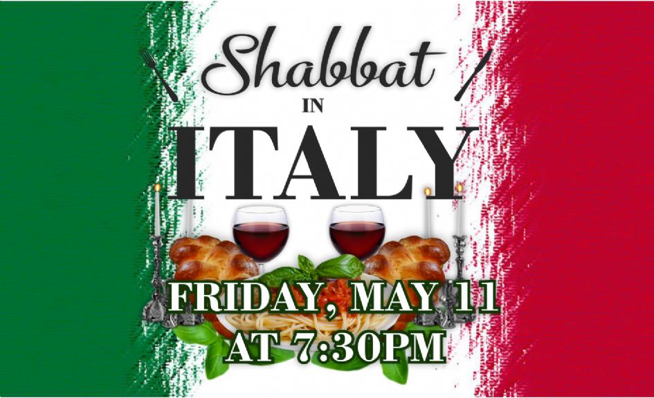 Shabbat Italy Promo.png