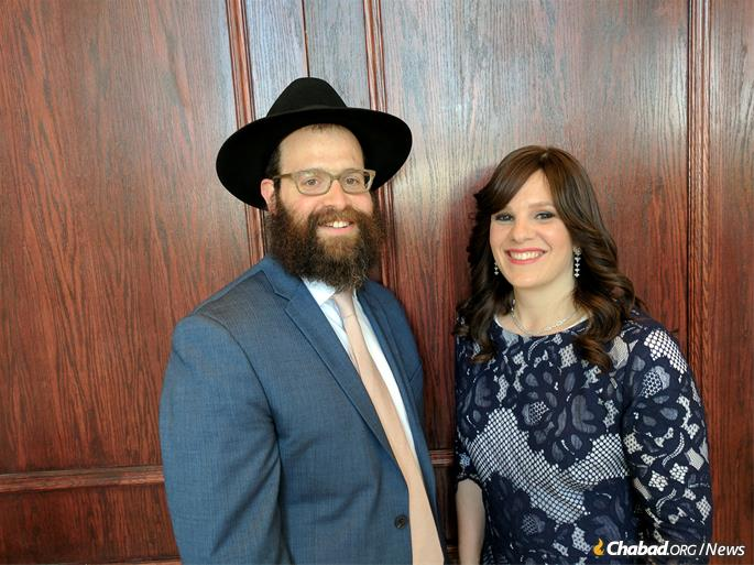 Rabbi Tzvi and Sarah Schectman serve as family coordinators at Friendship Circle in Michigan.
