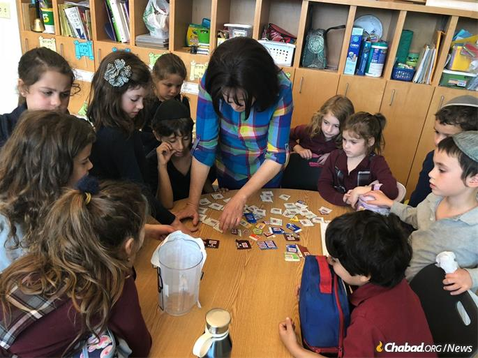 Learning comes alive with educator Nechama Kaufmann.