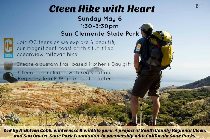 cteen hike with heart