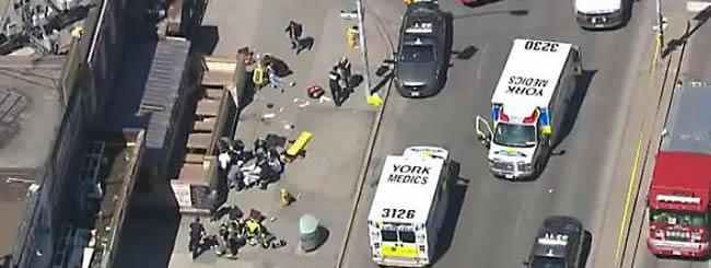 North America: 10 dead, 15 Injured as Van Mows Down Pedestrians in Toronto