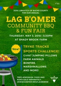 Lag B'Omer Community BBQ & Fun Fair