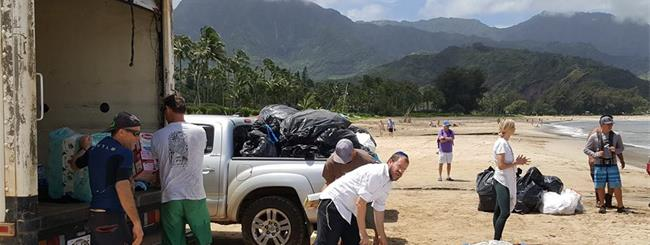 April 2018: Kauai Aid Workers Call Chabad Flood Relief 'The Perfect Kind of Help'