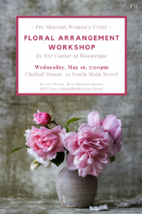 Floral Arrangement Workshop 2018