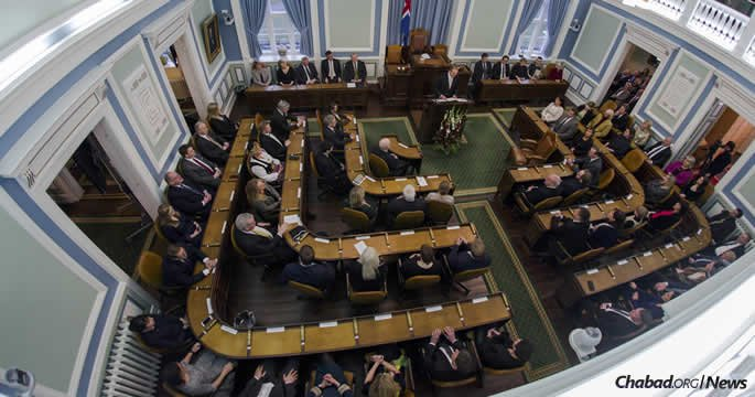 Iceland's parliament has tabled a bill to ban circumcision. (Photo: Government of Iceland)