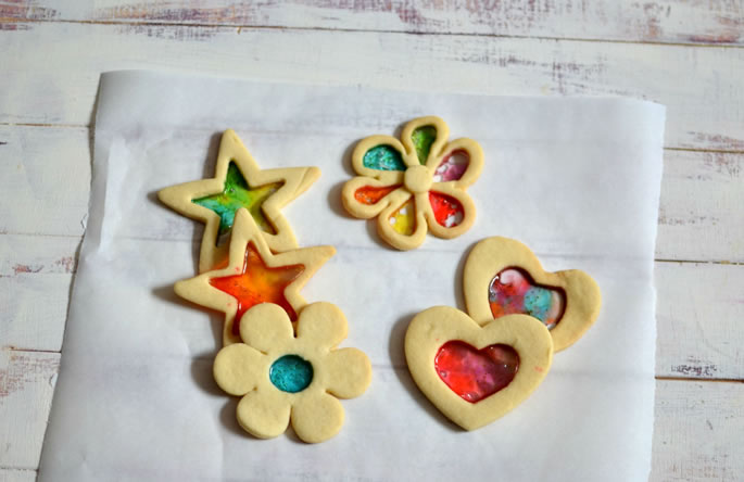 Bright Amp Colorful Stained Glass Cookies Cookies Kosher Recipe
