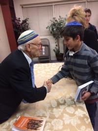 Evening with Holocaust Survivor Dr Eisenbach