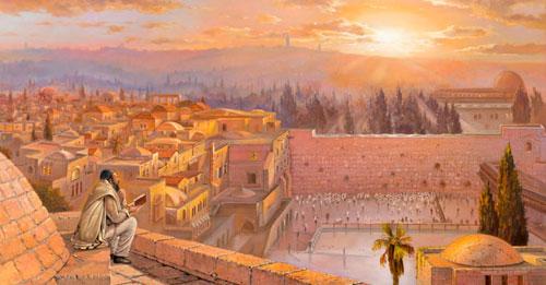 Sunrise in Jerusalem (© Alex Levin)