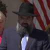 Rabbi Addresses National Day of Prayer in Rose Garden