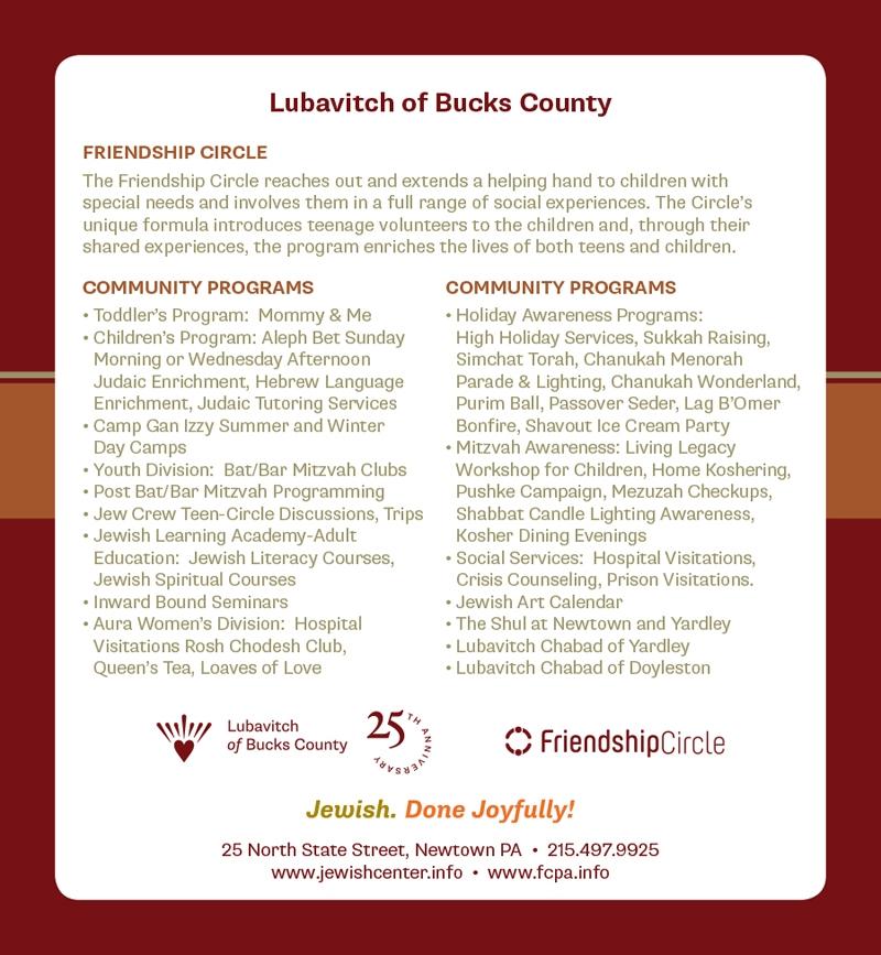 Lubavitch of Bucks County