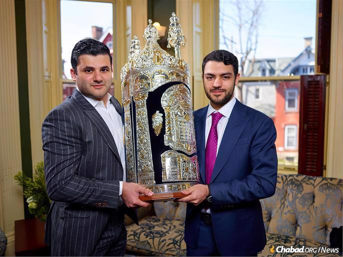 Rafael Ilishayev, left, and Yakir Gola