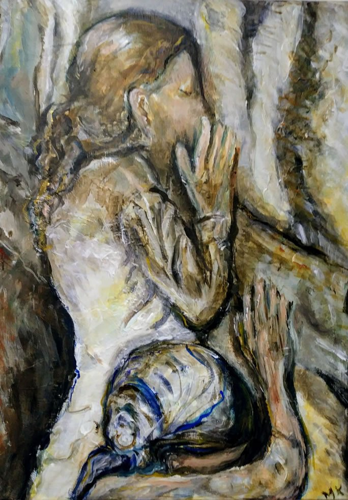 From the Heart: Women often come to the Kotel with a raw intimate immediacy.