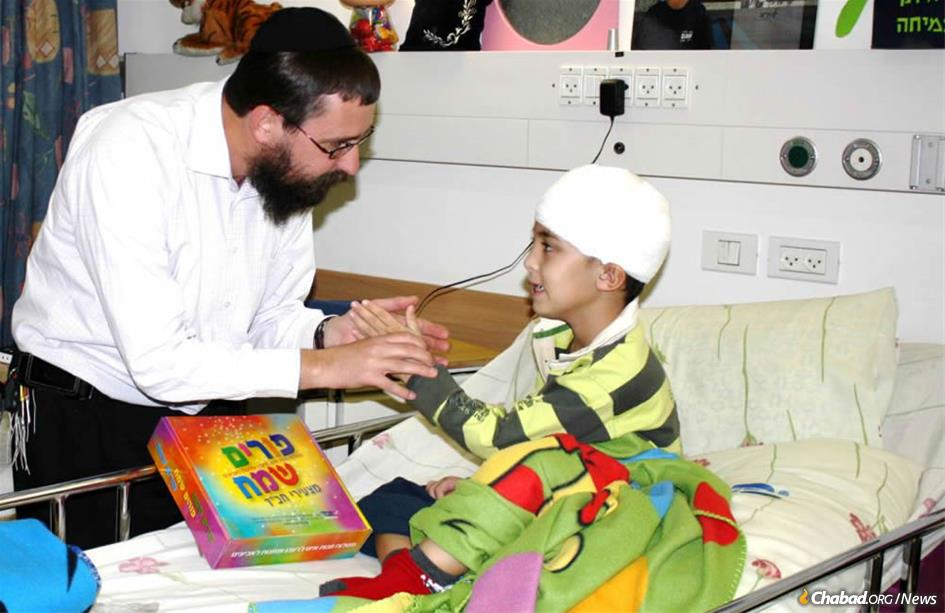 Rabbi Menachem Kutner, director of the Chabad Terror Victims Project (CTVP), has been coordinating all kinds of relief for Israeli terror victims and their families for the past 15 years.