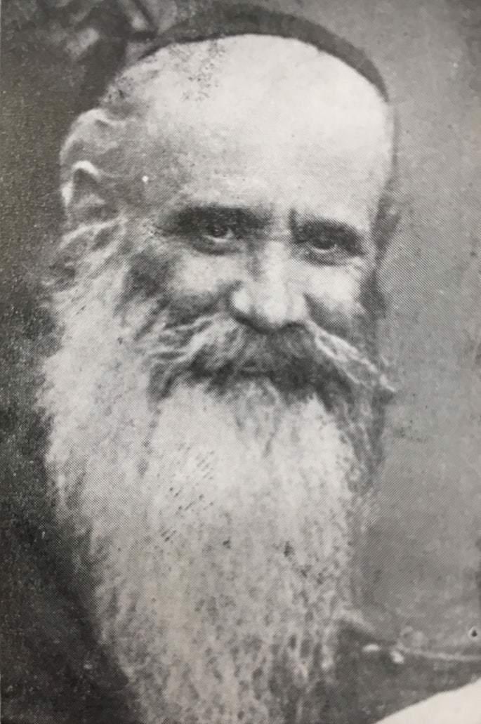 Rabbi Yoel Baranchik, founder of Torah VeDerech Eretz. He was killed by the Nazis. Photo: Yahadus BeLatvia Rabbonim.