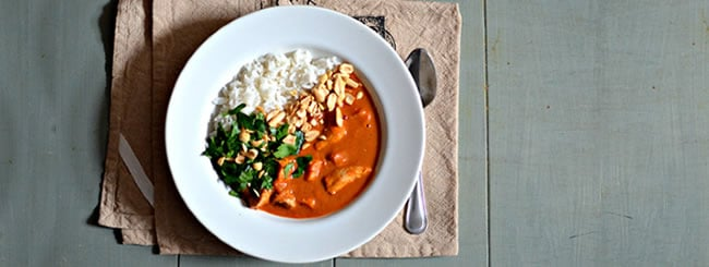 Chicken & Turkey: West African Chicken & Peanut Stew