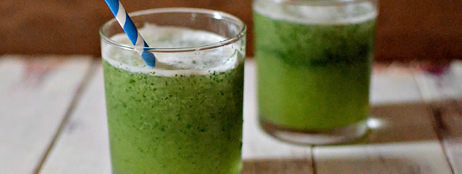 Drinks: Limonana – Frozen Mint Lemonade