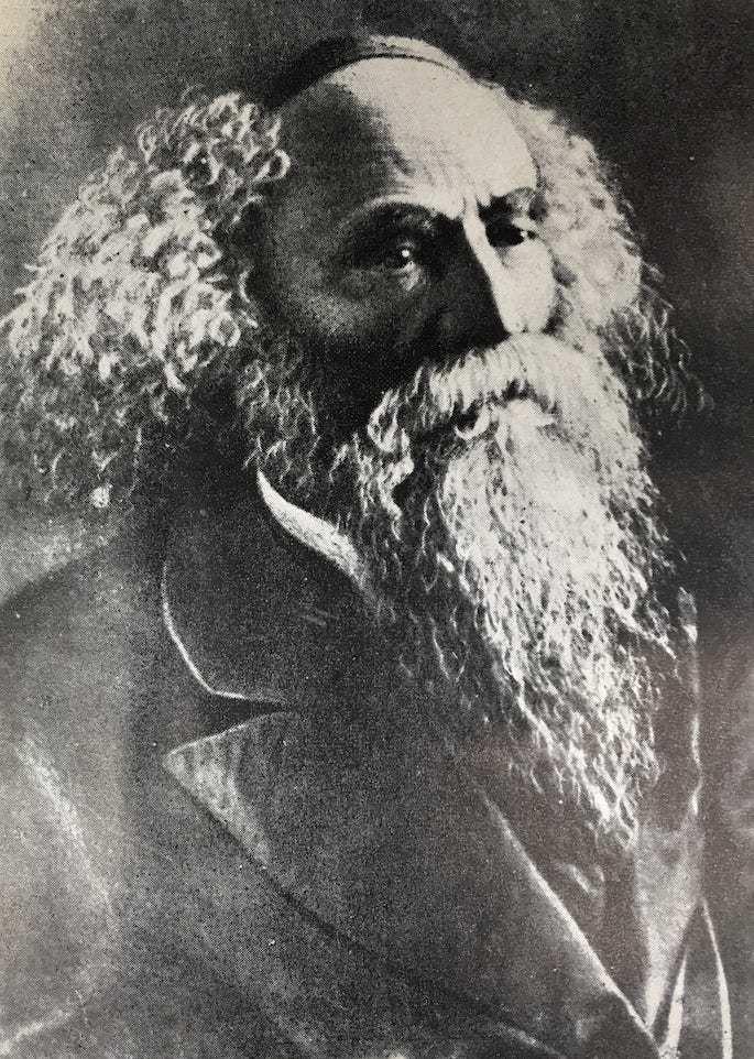 Rabbi Yosef Rosen, the Rogatchover gaon. Photo: Yahadus BeLatvia Rabbonim.