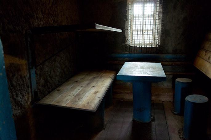 A cell at Perm 36. Courtesy: Gulag Museum at Perm 36.