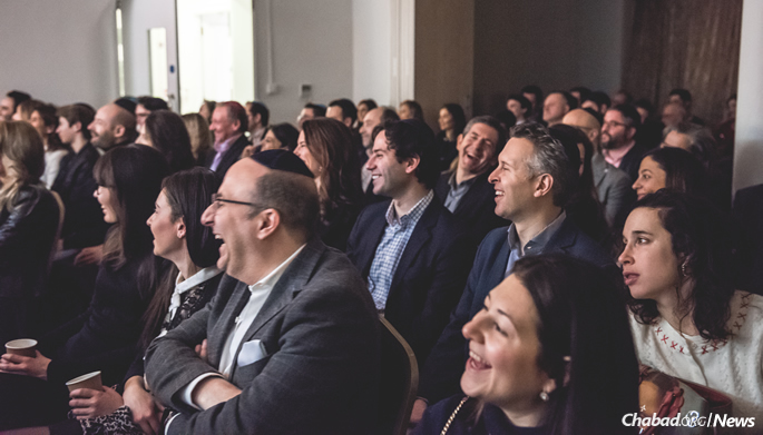 "The event, titled ""Living Torah,"" drew an audience of nearly 200 people. (Photo: Ramis Karamatov)"
