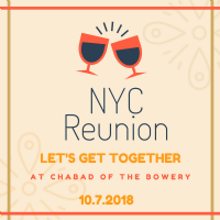 NYC Reunion Registration