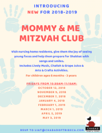 Mommy & Me Mitzvah Club