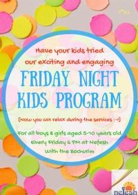 Friday night Kids Program