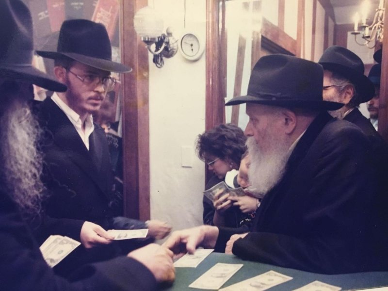 Rabbi Greenberg at the REBBE.jpg
