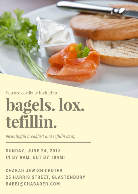 bagels lox and tefillin june.jpg