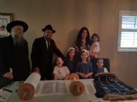 Zalmans Torah dedication