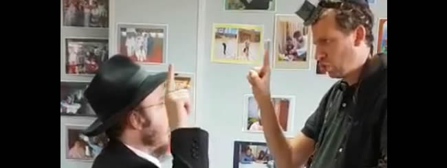 June 2018: Video of Deaf Rabbi and Student Saying Shema in Sign Language Goes Viral