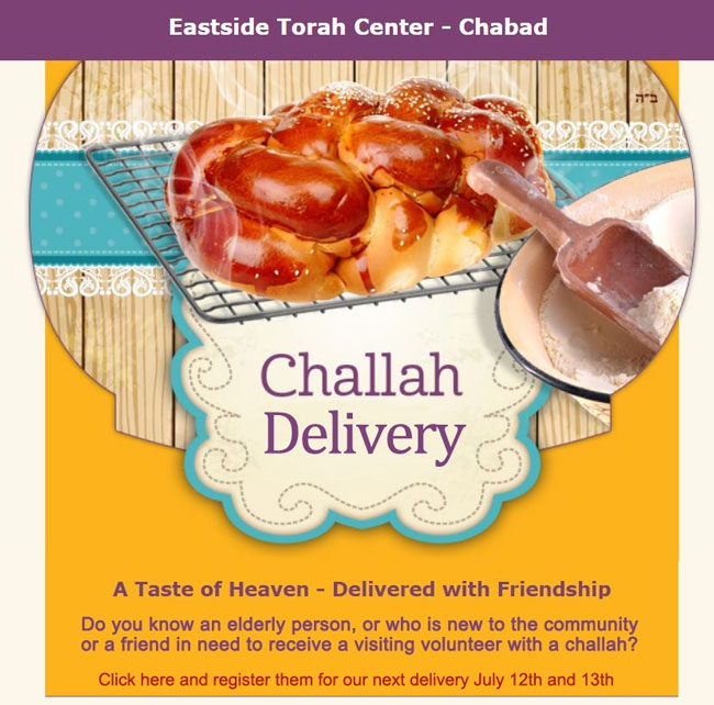 Challah Friends Delivery