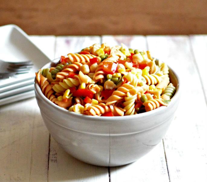 Marinated Summer Pasta Salad