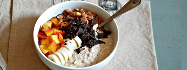 Dairy: Easy Overnight Breakfast Oats