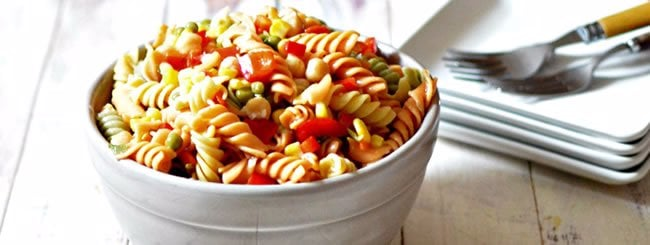 Pasta Salads: Marinated Summer Pasta Salad