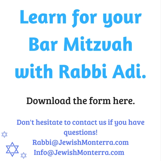 Learn for your Bar Mitzvah with Rabbi Adi..jpg
