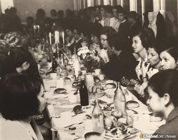 A gathering of war widows