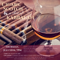 Cigar, Scotch and Kabbalah 2018
