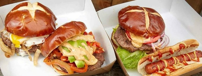 July 2018: Brooklyn Food Cart Serves Up Kosher Artisanal Burgers and Judaism