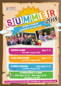 Chabad-Lubavitch Summer Activities