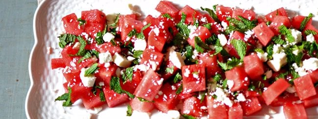 Salad: Ultimate Summer Salad: Watermelon, Feta & Mint
