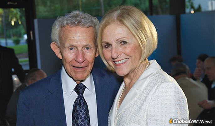 Dr. Marvin and Marsha Frank