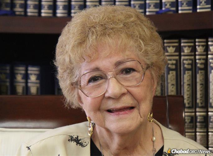 Myrna Horton, who recently passed away at 84, was enthusiastic about her decision to make a legacy gift to Chabad and was passionate about persuading others to consider doing so as well.