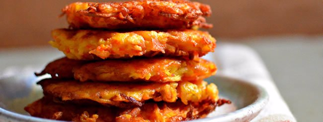 Vegetable Latkes: Crispy Carrot-Parsnip Latkes