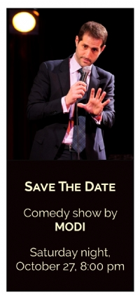 Save the date - Comedy show