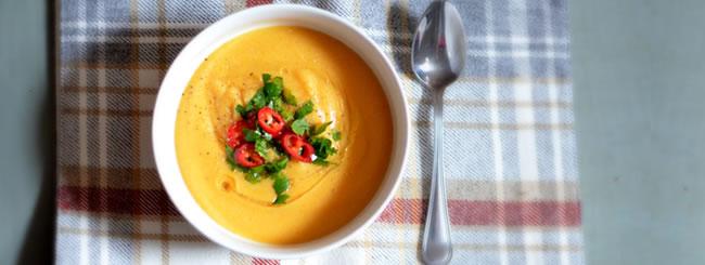 Soup: Cauliflower Parsnip Soup