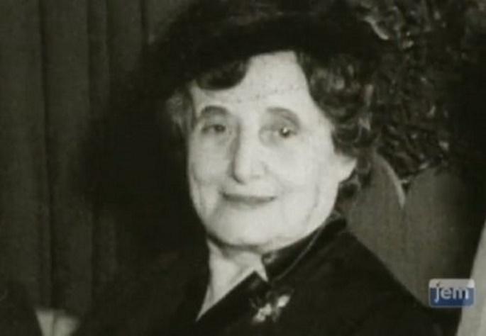 Rabbi Levi Yitzchak's wife, Rebbetzin Chana Schneerson