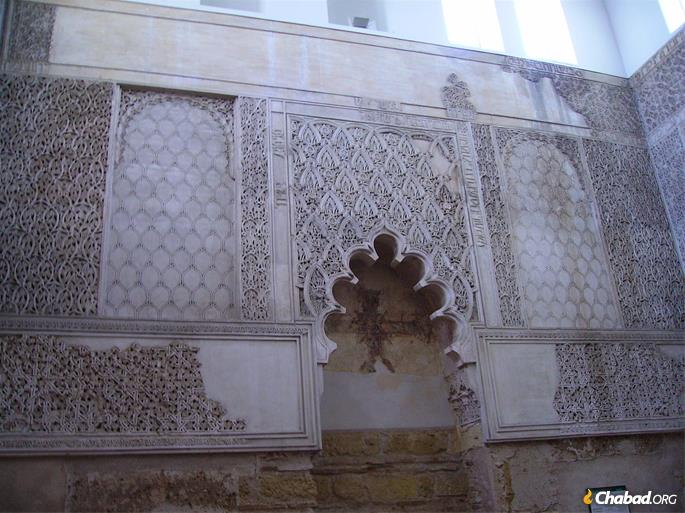 The Cordoba synagogue was built by Sepharadic Jews in 1315. After Jews were expelled from Spain in 1492, it was converted to a hospital.